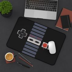 Gaming Desk Mat, Gifts For Him, Great Gifts, Rustic Wood Decor, Multifunctional, Retro, Games, Art, Art Background
