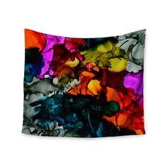 Kess InHouse Louise Machado Candy Purple Pastel Wall Tapestry 68 X 80