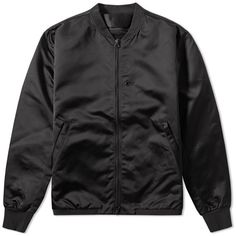 Acne Studios Selo Light Bomber ($605) ❤ liked on Polyvore featuring men's fashion, men's clothing, men's outerwear and men's jackets