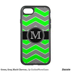 Keep your new iPhone XS protected with Modern iPhone XS cases from Zazzle! Choose from thousands of designs and brands such as Case-Mate, OtterBox, Speck & more! New Iphone, Iphone Case Covers, Black Chevron, Monogram, Green, Lime, Monogram Tote, Lima, Key Lime