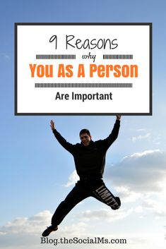 Personal Branding – 9 Reasons Why YOU As a Person Are Important Read more on http://blog.thesocialms.com/