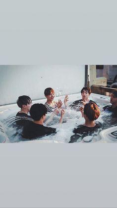 Bts in the pool Foto Bts, Bts Photo, Jung Hoseok, Frases Bts, Bts Qoutes, Taehyung, Bts Boys, Bts Bangtan Boy, Dance Music