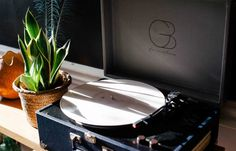 A beginner's basic guide to purchasing a new record player, shopping for new records, keeping their records clean, and taking care of their record player. Nasa, Logo Type, Record Players, Vintage Records, Plant Needs, Daddy Yankee, Creative Logo, Turntable, Indoor Plants