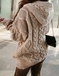 don't you just want to live in this sweater?