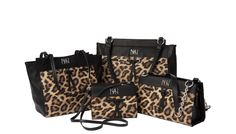 Miche Verve Collection - Get a little wild this season with our leopard print Verve Collection! #fallfashion #animalprints #michefashion #handbags