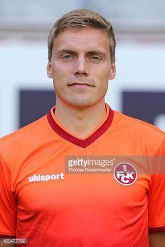 Ruben Jenssen of 1FC Kaiserslautern poses during the team presentation at FritzWalter Sadion on July 15 2014 in Kaiserslautern Germany