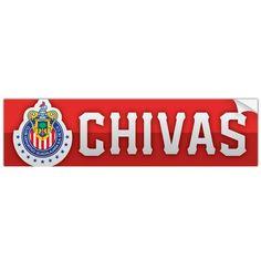 Chivas Guadalajara Mexico Bumper Sticker Calcamonia