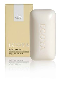 ECOYA Soap - Vanilla Bean   www.ecoya.com/