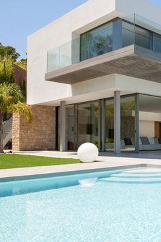 "envibe: "" ❛ Villa Cala Moli ❜ Location: Cala Moli, Ibiza Buy now at: Savills Photographer: Unknown Envibe Balearic Week """
