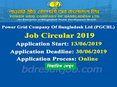 Power Grid Company Of Bangladesh Ltd Job Circular 2019 Teacher Registration, Online Job Applications, Job Test, Assistant Engineer, Newspaper Jobs, Job Application Form, Job Advertisement, Job Information, Job Circular