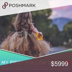 #1 MY FIRST FOLLOW GAME! ❤️👗 Follow me..... How it works:                                                                                               ⭐️ Like this post ⭐️ Follow me ⭐️ Follow everyone that likes this post ⭐️ Share this post   Excited to grow my Posh Family! Don't forget to check out my closet and say hi! 😊 follow Tops