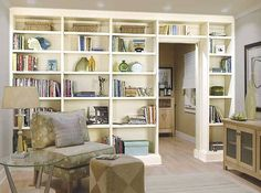 About Built-In Bookcases