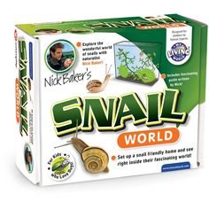 Science & Nature Minibeasts My Living Snail World Plastic Observing Tank - Nick Baker Nature Kit Science For Kids, Science Nature, World Farm, Kids Magnets, Educational Toys For Kids, Study Notes, Hobbies And Crafts, Fun Activities, Gifts For Kids