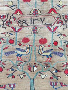 Serab rug, Persia - detail