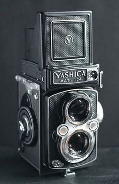 Yashica Mat-124. I just got one of these with an inoperative meter. #camera