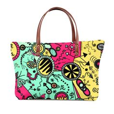 Crazy Colour Doodle Crazy Colour, Color, Selling Online, Doodles, Tote Bag, Stuff To Buy, Bags, Things To Sell, Women