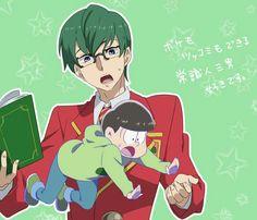 Image about cute in Osomatsu - san by Chloe Onii San, Goth Boy, Comedy Anime, Ichimatsu, Hot Anime Guys, Anime Style, Me Me Me Anime, Kawaii, Fan Art