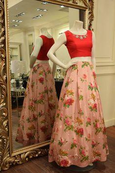 Threads-Motifs-Long-Printed-Skirts-Silk-New-Collection-2016-9.jpg (640×960)