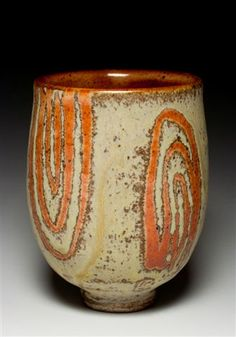 yunomi - tea bowl - tea bowl - extraordinary potter--Caroline Cercone--co-op member at the Clay Lady Studios and Co-op in Nashville, TN Pottery Mugs, Ceramic Pottery, Pottery Art, Slab Pottery, Thrown Pottery, Pottery Wheel, Pottery Studio, Ceramic Clay, Porcelain Ceramics