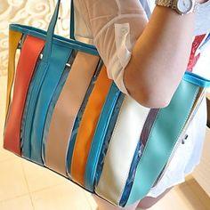 Women's Fashion Colorful Tote