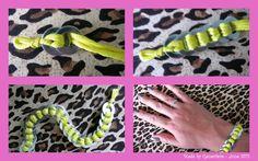 Made by Geneviève: DIY bracelet / Tutorial bracelet Thread and Washers