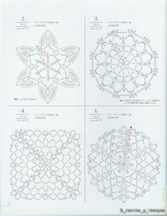 Lacework floral design...