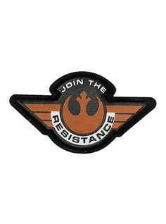 Star Wars Rebel Alliance Iron-On Patch,