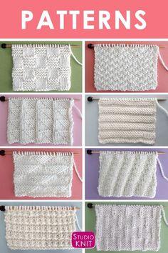1568 Best Knit Stitch Patterns Vintage Images In 2019 Free