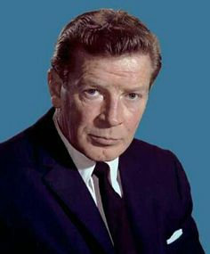 """Richard Basehart (1914 - 1984) Actor. Born in Zanesville, Ohio, he was fondly remembered for the lead role of Admiral Harriman Nelson on the TV series """"Voyage To the Bottom Of the Sea""""."""