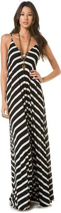 Great for the beach! EIGHT SIXTY STRIPE MAXI DRESS | Swell.com