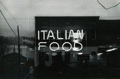 Lewis Baltz, Italian Food (from Prototype Works), 1976