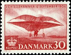 Danish postage stamp from 1956
