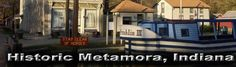 Metamora, Indiana is Indiana's only functioning Canal Town! Visit Metamora to enjoy a wonderfully quaint town full of history and scenic beauty.  You won't find another place anywhere, that has what can be found in Metamora.... Read more about Metamora