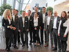 Das Team 4SELLERS bei unserer Interessenten-Veranstaltung im Februar 2013 in der BMW Welt München.