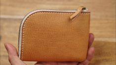 Leather Craft, Leather Wallet, Zip Around Wallet, Mini, Crafts, Bags, Youtube, Handbags, Leather Crafts