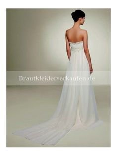 Chiffon Strand Hochzeitskleid