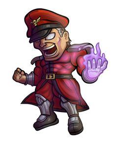 Street Fighter V - M. Bison Chibi by… Street Fighter Comics, Street Fighter Game, Super Street Fighter, Cartoon Design, Cartoon Styles, Cute Cartoon, Chibi Games, Street Fighter Wallpaper, Game Character