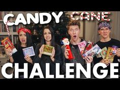 CANDY CANE CHALLENGE + BEAN BOOZLED CHALLENGE! Merrell Twins vs. Key Bros | Collins Key - YouTube