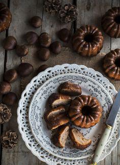 Gluten free chestnut cake