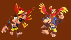 ¡El creador de Banjo-Kazooie quedó sorprendido al no ver cambios en su personaje para SSB. Ultimate! Super Smash Bros, Banjo Kazooie, Nintendo, Bowser, Videogames, Club, Tattoo, Cool Stuff, Platform Games