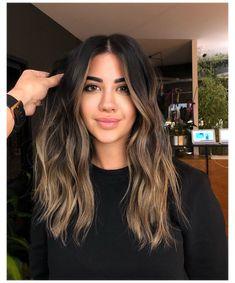 Balayage Hair Dark Blonde, Balayage Hair Brunette Caramel, Balayage Hair Blonde Medium, Brown Balayage, Hair Color Balayage, Bayalage, Brunette Hair, Ombre Hair, Wavy Hair