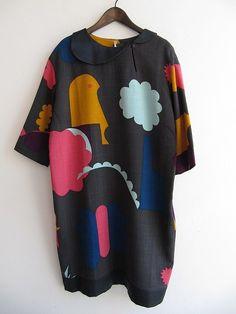 Mina Perhonen. Love the fabric.