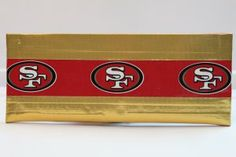 Duct Tape Wallet (Bi-Fold) - San Francisco 49ers, $15.  We are also on Etsy at:  www.junorduck.etsy.com.
