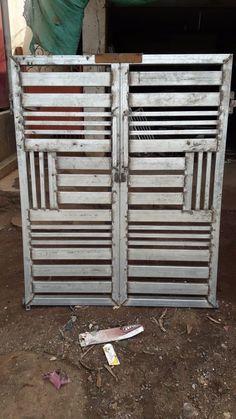 Grill Gate Design, Steel Gate Design, Front Gate Design, Main Gate Design, House Gate Design, Door Gate Design, Iron Fence Gate, Gate Designs Modern, Security Doors