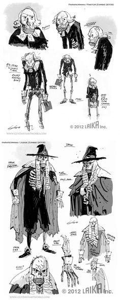 Guy Davis    http://theconceptartblog.com/wp-content/uploads/2012/11/Paranorman_01.jpg