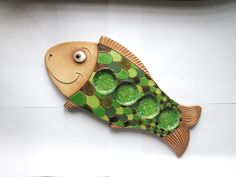 Fish Sculpture, Pottery Sculpture, Clay Projects, Clay Crafts, Clay Fish, Chicken Crafts, Pottery Videos, Pottery Animals, Ceramic Candle Holders