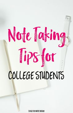 Note Taking Tips for College Students - Did you know that the way you write…