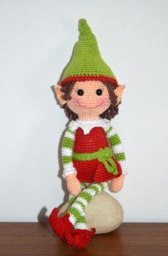 Elf Girl - AmigurumiBB
