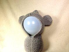 How to Loom Knit a Bear Ears Hoodie (DIY Tutorial)
