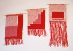 Love.these.colours. Get on my wall now! // Handwoven Wall Hanging - Ampendonk